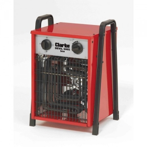 Clarke Devil 6005 Industrial 5Kw Fan Heater - 3 Phase