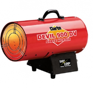 Clarke Devil 900DV Propane Space Heater