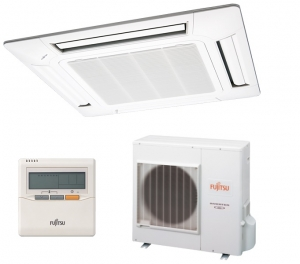 Fujitsu Cassette Air Conditioning - Heat Pump