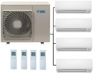 Daikin 4MXM68N Outdoor Unit - 4 Indoor Units