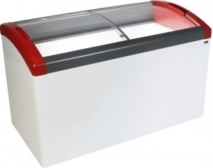 Elcold 418 Litre Glass Lidded Chest Freezer FOCUS151