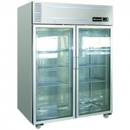 Blizzard Large Glass Door Gastronorm Freezer LB2SSCR