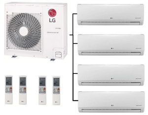 LG MU4R25.U40 - 4 Indoor Units