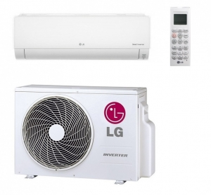 LG DC24RQ.NSK Wall Mounted Heat Pump - Air Conditioner