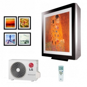 LG A09FR.NSF Artcool Gallery Wall Air Conditioning