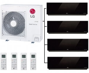LG MU4R27.U40 Outdoor Unit - 4 Artcool Mirror Wall Units