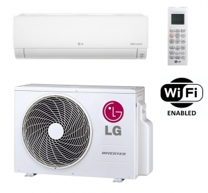 LG Deluxe Wall Air Conditioner DC09RQ.NSJ