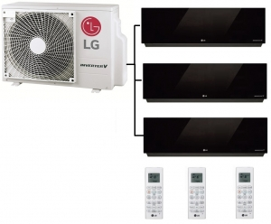 LG MU3R19.UE0 Outdoor Unit - 3 Artcool Mirror Units