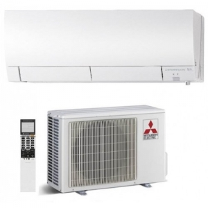 Mitsubishi Electric Energy Efficient Wall Air Conditioning - Heat Pump