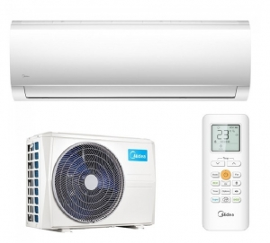Midea Blanc Wall Mounted Air Conditioning MA-12NXD0-I