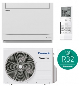 Panasonic CS-Z25UFEAW Floor Console Air Conditioner