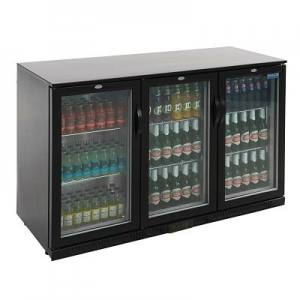 Polar GL014 Triple Door Reduced Height Bottle Cooler
