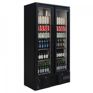 Polar Bar Display Cooler Double Hinged Door GJ449