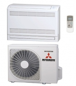 Mitsubishi SRF35ZMX-S Low Wall Mounted Heat Pump