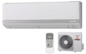 Mitsubishi High Efficiency SRKZMX-S Wall Air Conditioning - Heat Pump