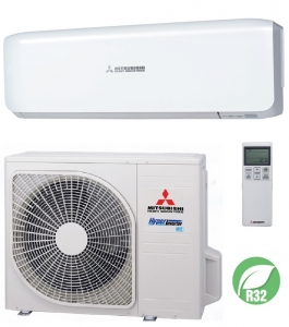 Mitsubishi SRK50ZSX-W Inverter Air Conditioner Heat Pump