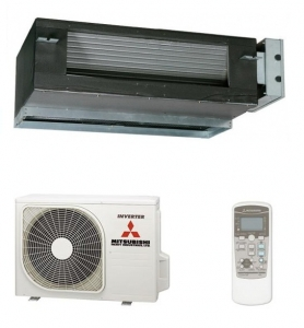 Mitsubishi SRRZM-S Ducted Heat Pump - Air Conditioning