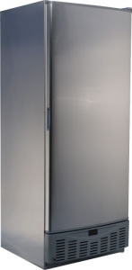Sterling SPN540-STS Large Upright Stainless Steel Cabinet Freezer