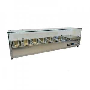 Blizzard Glass Topped Preparation Unit TOP1500CR