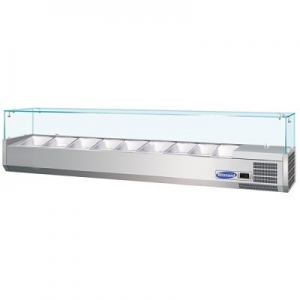 Blizzard Glass Topped Preparation Unit TOP2000CR