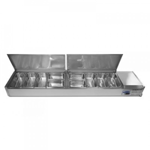 Blizzard Lidded Preparation Unit TOP2000EN