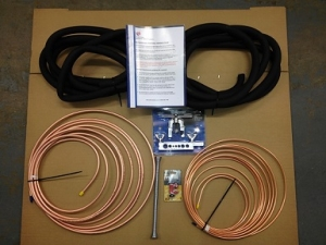 "Basic Air Conditioning Fitting Kits - Kit One  (1/4"" -  3/8"" Pipe)"