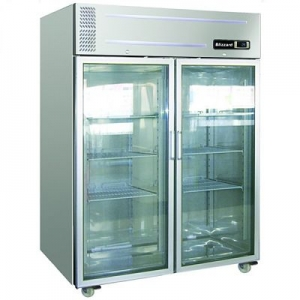 Blizzard Large Glass Door Gastronorm Fridge HB2SSCR