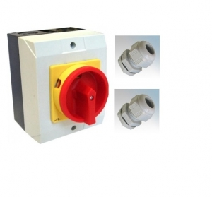 Rotary Isolator 25Amp - 4 Pole