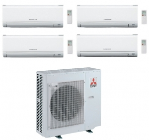 Mitsubishi Electric Outdoor Unit MXZ-4E83VA - 4 Wall Mounted Indoor Units