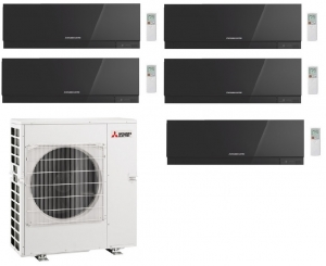 Mitsubishi Electric Outdoor Unit MXZ-5E102VA - 5 Zen Wall Mounted Indoor Units