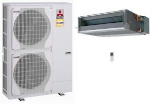 Mitsubishi Electric Zubadan Ducted Heat Pump System