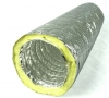 Flexible Insulated Ducting 150mm Diameter - 10 Metres Length