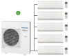 Panasonic CU-5Z90TBE Outdoor Unit - 5 Etherea Indoor Units