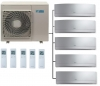 Daikin 5MXM90N Outdoor Unit - 5 Emura Indoor Units