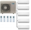 Daikin 5MXM90N Outdoor Unit - 5 Indoor Units