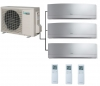 Daikin 3MXM52N Outdoor Unit - 3 Emura Indoor Units