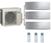 Daikin 3MXM68N Outdoor Unit - 3 Emura Indoor Units