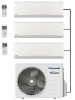 Panasonic CU-3Z52TBE Outdoor Unit - 3 Indoor Units
