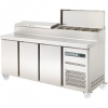 Sterling Three Door Pizza Prep Counter SPPZ-180