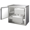 Blizzard BCC2-2D Compact Two Drawer Counter