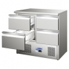 Blizzard BCC2-4D Compact Four Drawer Counter