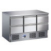 Blizzard BCC3-6D Compact Six Drawer Counter