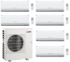 Mitsubishi Electric MXZ-6D122VA - 6 Indoor Units