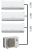 Mitsubishi Electric Outdoor Unit MXZ-4E72VA - 3 Wall Mounted Indoor Units