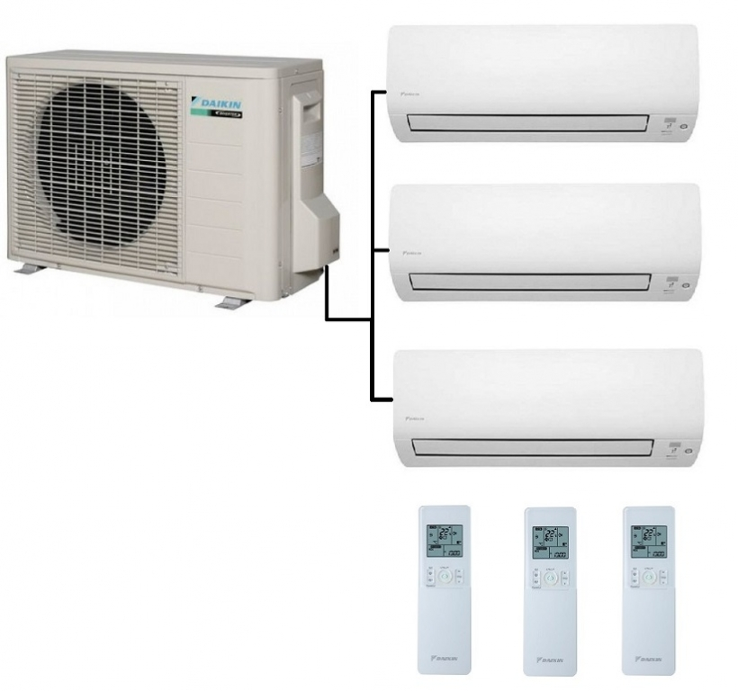 Daikin 3MXM52M Air Conditioner - Heat Pump