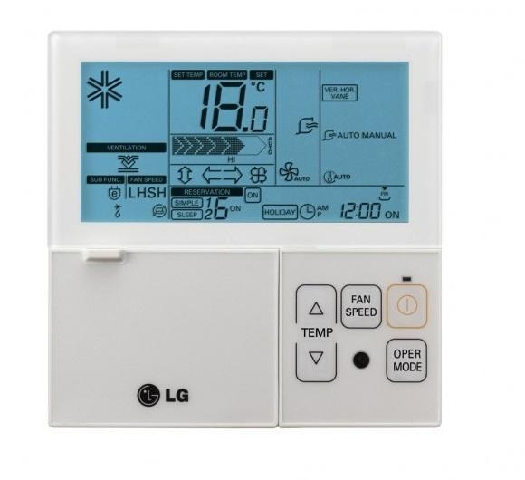 Lg Premtb001 Hardwired Controller