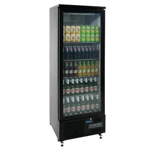Polar gj447 bar display cooler single door for 1 door display chiller