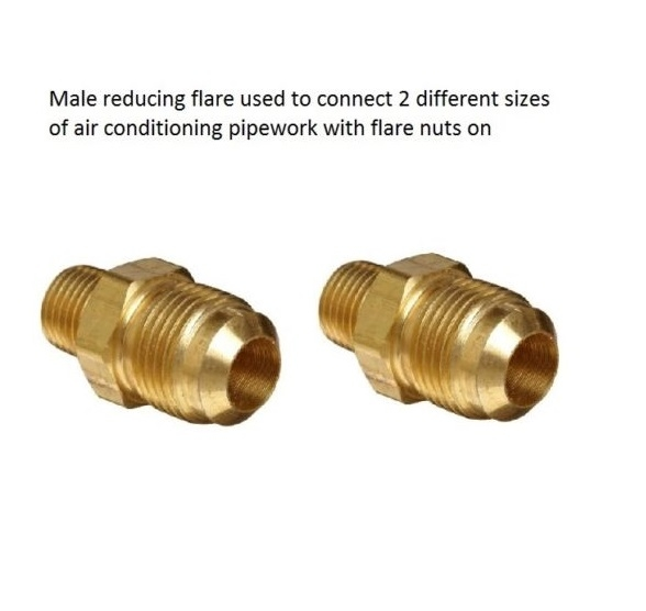 Reducing male flare union quot