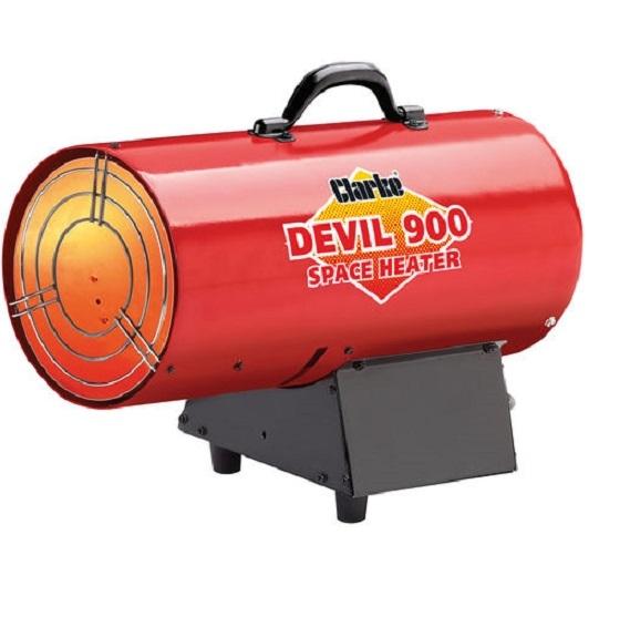 Clarke Devil 900 Propane Space Heater