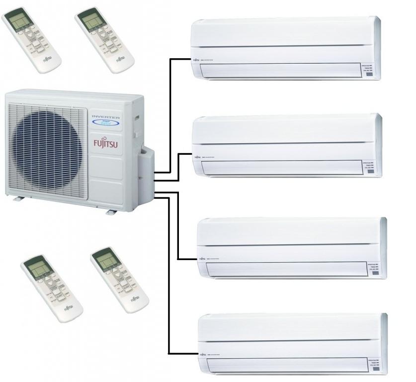 Fujitsu Multi Air Conditioner Heat Pump Aoyg30lat4